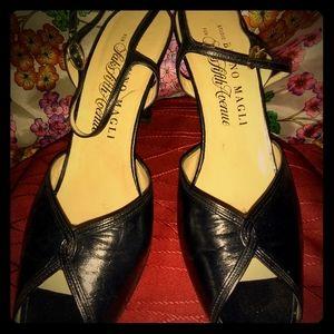 Black ladies dress heels